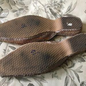 Ashro Shoes - ASHRO | Silk and Sequin Ballet Slipper Style Mules